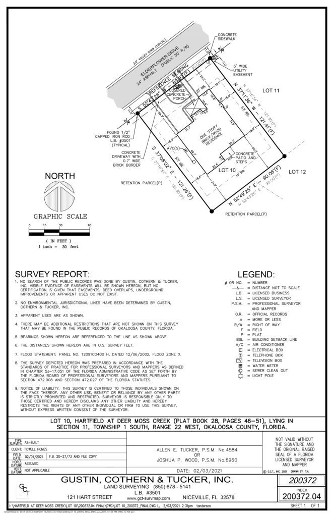 Image of a residential project of GCT Surveying & Mapping
